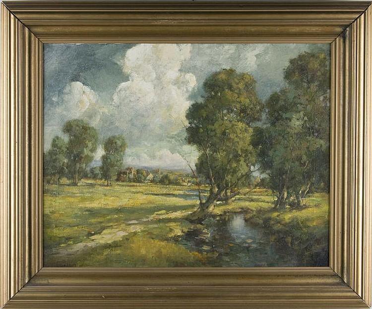 att. Francis Bradford (NY, 1898-1961), Landscape
