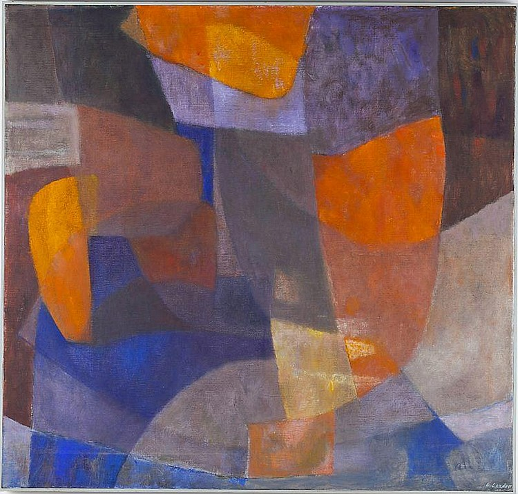 Edith London (NC, 1904-1997), Abstract