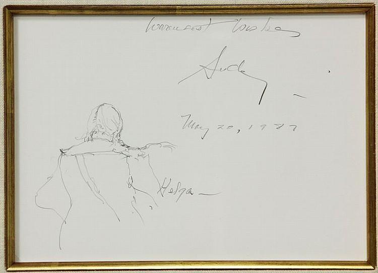 Andrew Wyeth (1917-2009), Rare