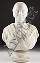 Leonard Volk (IL, 1828 - 1895), Female Bust, Leonard Wells Volk, Click for value