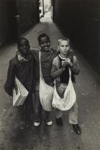Lee (Norman) Friedlander, 3 Boys, 1963