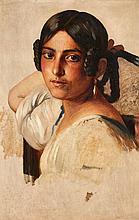 Franz Xaver Winterhalter, A Young Italian Girl