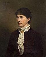 OTTO RETHEL 1822 Aachen- 1892 Düsseldorf BILDNIS
