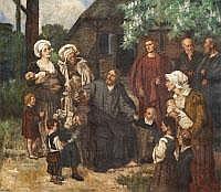 EDUARD VON GEBHARDT 1838 St. Johannis/Estland-