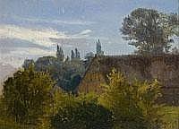EMIL LUGO 1840 Stockach- 1902 München LANDSCHAFT