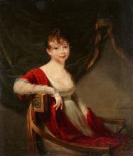 Jean-Laurent Mosnier, attributed to, Portrait of Grand Duchess Catherine Pavlovna