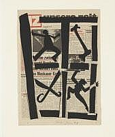 FELIX DROESE Singen 1950 OHNE TITEL 1978 Collage,