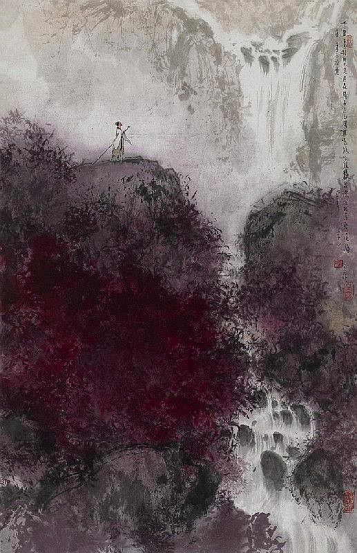 Li Shan (geb. 1926)Tausend Felsen und
