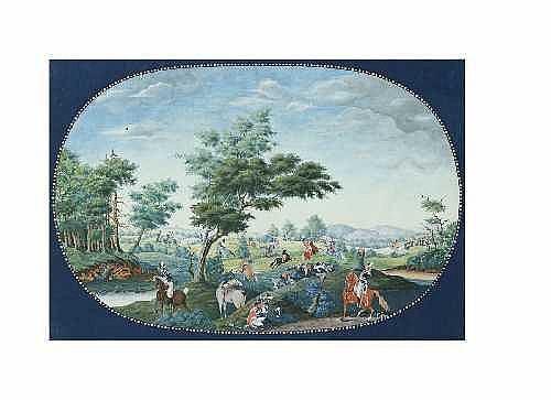 ULRICH LUDWIG WOLFF 1776 Berlin - 1832 Berlin ZWEI