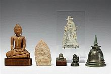Six Thai objects. 16th/20th century