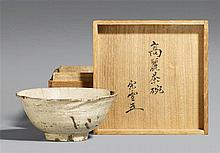 A Korean Kohiki chawan. 16th century
