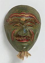 A Java polychromed wood mask (topeng)