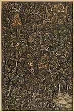 A painting by I Ketut Murtikuta (1952-1995)