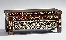 A Korean small, low wooden table. 19th century
