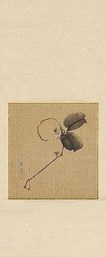 Matsumura Keibun (1799-1843) Albumblatt als