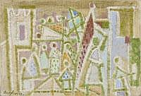 EDUARD BARGHEER 1901- Hamburg - 1979 PROZESSION