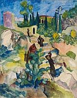 JOSEF EBERZ Limburg 1880 - 1942 München TAORMINA