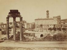 Auguste Rosalie Bisson called Bisson Jeune, Roman Forum with the Capitol, 1859 - 1963