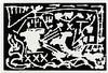 A.R. Penck, Die Dunkelheit der Macht, 1985, A. R Penck, €50