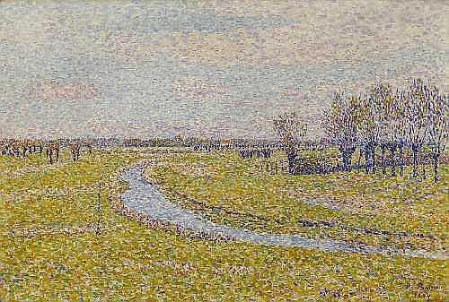 PAUL BAUM Meissen 1859 - 1932 San Gimignano