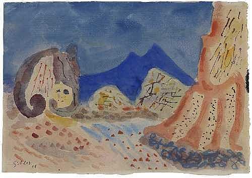 WERNER GILLES Rheydt 1894 - 1961 Essen