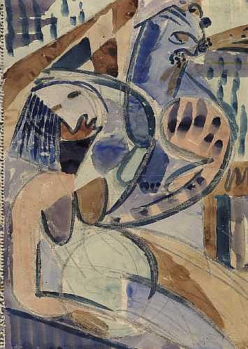 ANTON RaDERSCHEIDT 1892 - Koln - 1970