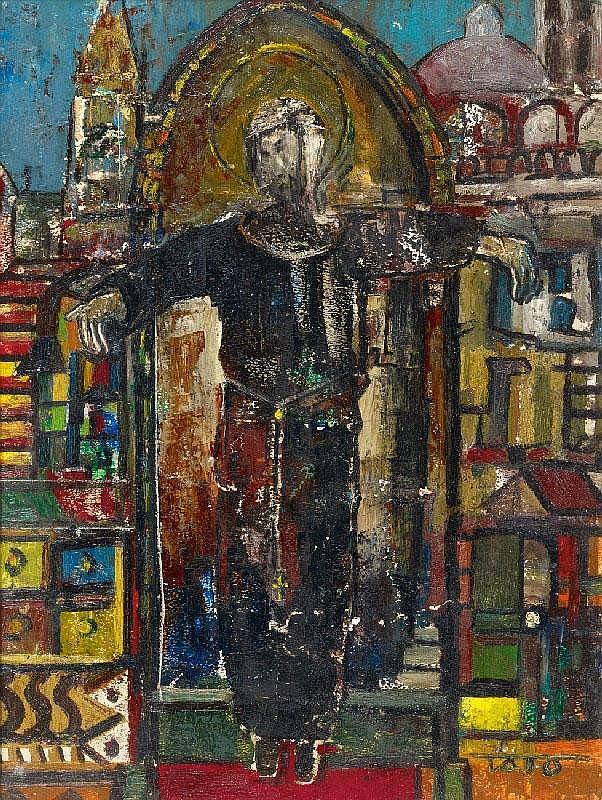 TATO (Guglielmo Sansoni), Immagine sacra, 1950s