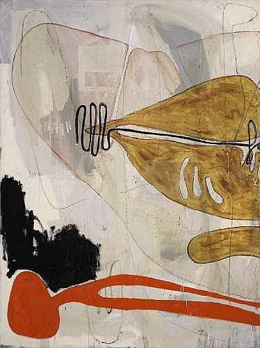 MARKUS OEHLEN Krefeld 1956 OHNE TITEL (MUND) 1985