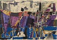 JOSEPH FASSBENDER 1903 - Köln - 1974 OHNE TITEL