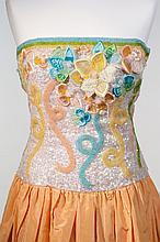 An Escada Couture Evening Dress,  1990s