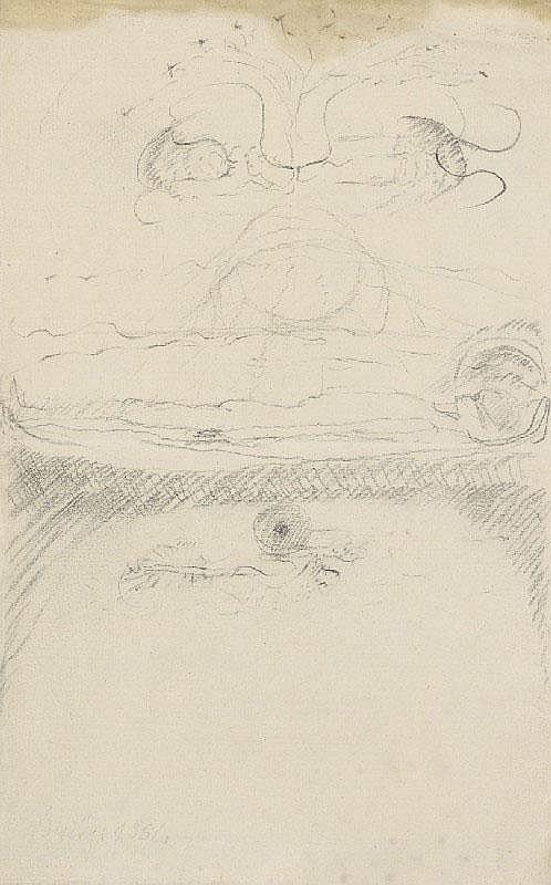 JOSEPH BEUYS, Der Tod und die Seele, 1952
