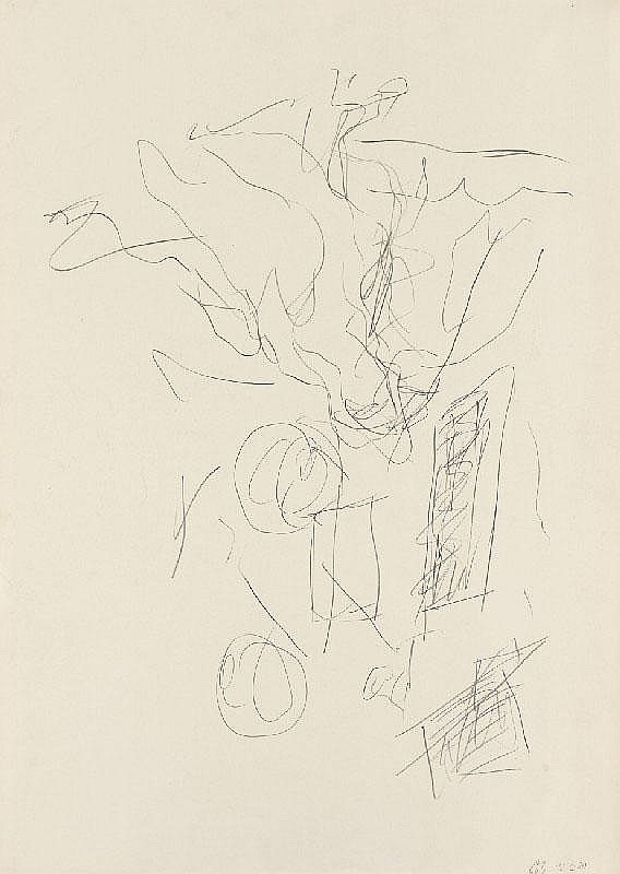 GEORG BASELITZ, Untitled, 1979