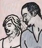 C.O. PAEFFGEN, Untitled (Madonna und Carlos Leon), 1996