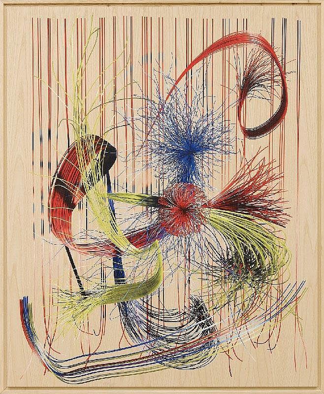 TIM BERRESHEIM, RGB (Questionmark) Wood I, 2007
