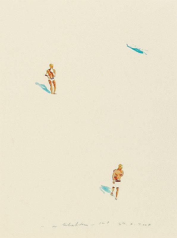 NORBERT BISKY, Im Schatten , 2004