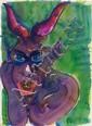 RAINER FETTING, Troll, 2000
