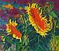 PHILIPP BAUKNECHT, Sonnenblumen, 1920-1925