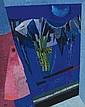 CARL BARTH, Blaue Nacht im Gebirge, 1959