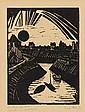 ERICH HECKEL, Krummer Kanal, 1915