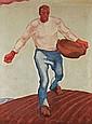 ALBIN EGGER-LIENZ, Der Sämann, 1914