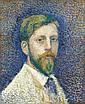 GEORGES LEMMEN, Autoportrait, 1890