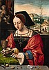 Master of the Female Halflengths, Saint Mary Magdalene, Ambrosius Benson, Click for value