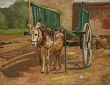 Hugo Mühlig, Donkey Cart
