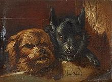 Joseph Stevens, Two Dogs