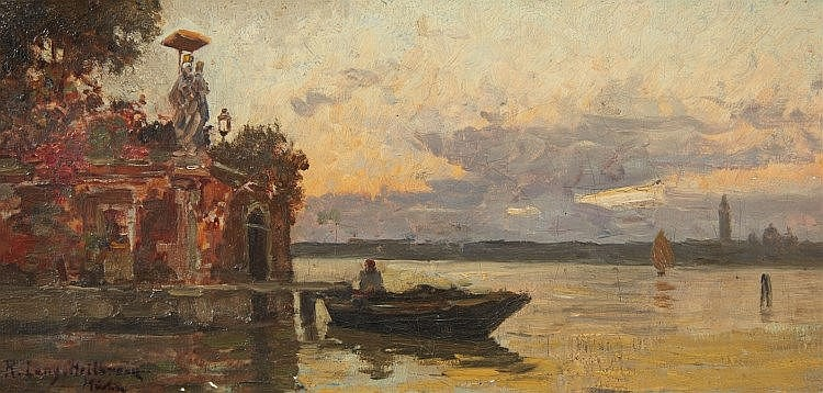 Richard Lang, The Lagoon of Venice