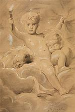 Charles Chaplin, Cherub with a Torch - Allegory of Night