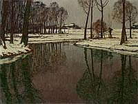 MAX CLARENBACH 1880 Neuss - 1952 Köln