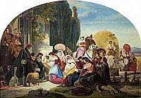 AUGUST FERDINAND HOPFGARTEN 1807 Berlin - 1896