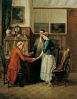 CARL HEINRICH HOFF 1838 Mannheim - 1890 Karlsruhe
