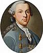 GERMAN SCHOOL 2nd half 18th century;  PORTRAIT OF A MAN WITH THE ORDER POUR LE MÉRITE